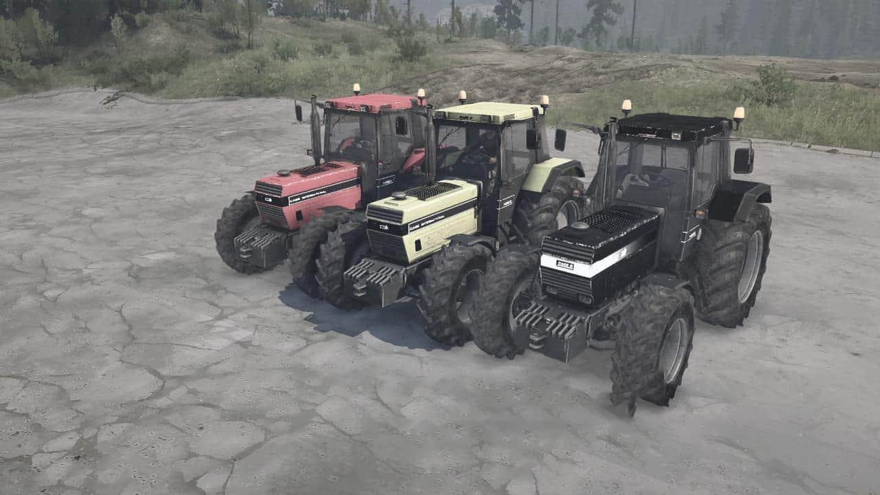 Spintires:Mudrunner - Case IH 1455XL Tractor V13.10.19