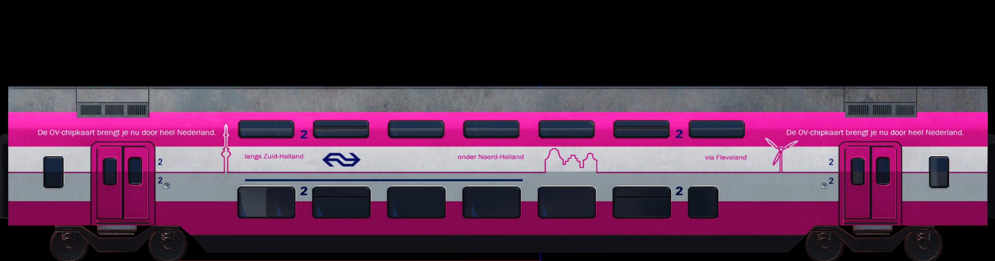 Transport Fever 2 - NS VIRM: OV Chipkaart