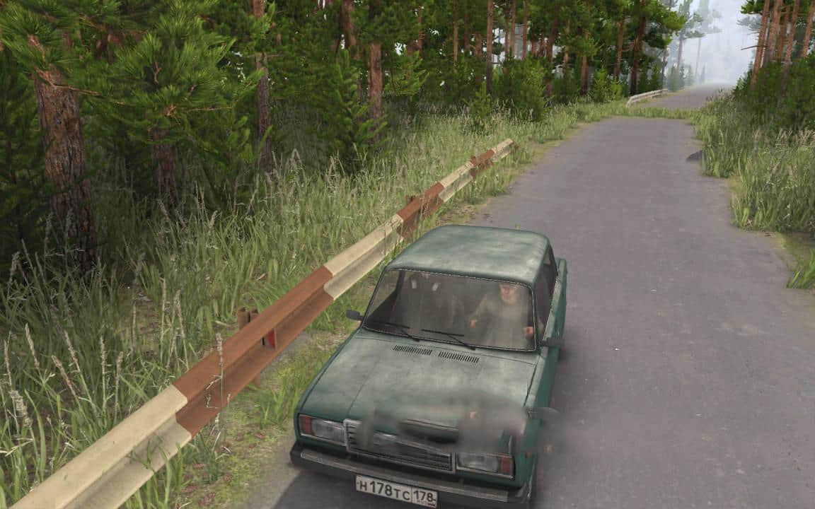 Spintires - Road Barrier (Overlay) for The Editor V1.1