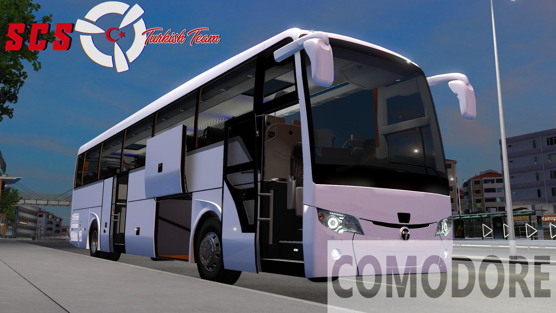 ETS2 - Temsa Safir Plus 2018 Bus V2.5 (1.39.x)