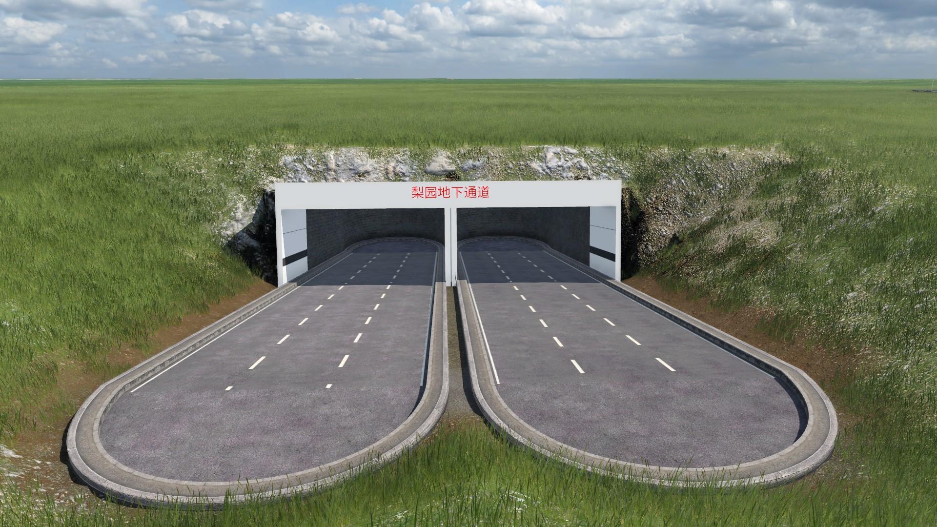Transport Fever 2 - TFUR Tunnel