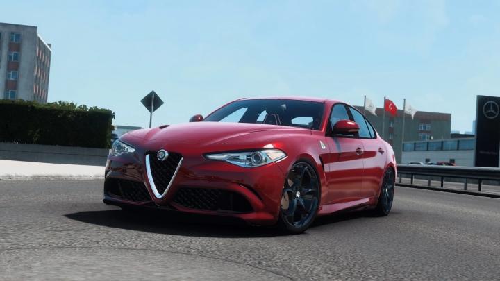 ETS2 - Alfa Romeo Giulia V1R60 (1.40.x)