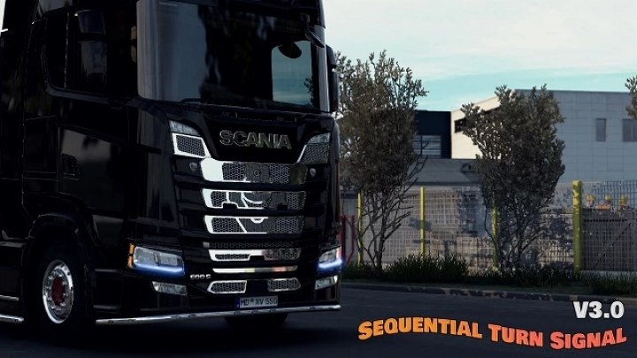 ETS2 - Sequential Turn Signal Mod V3.0 (1.40.x)