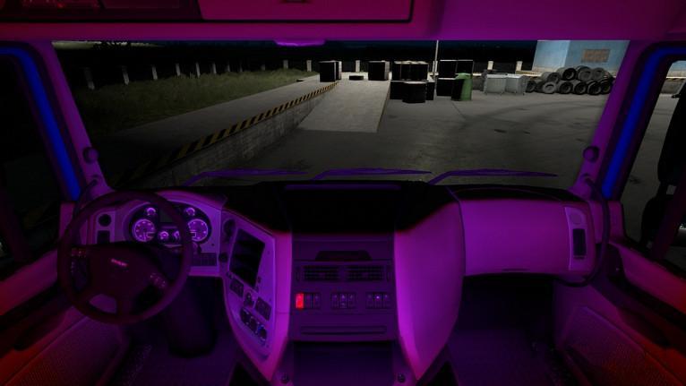 ETS2 - Interior Lights V1.1 (1.38.x)