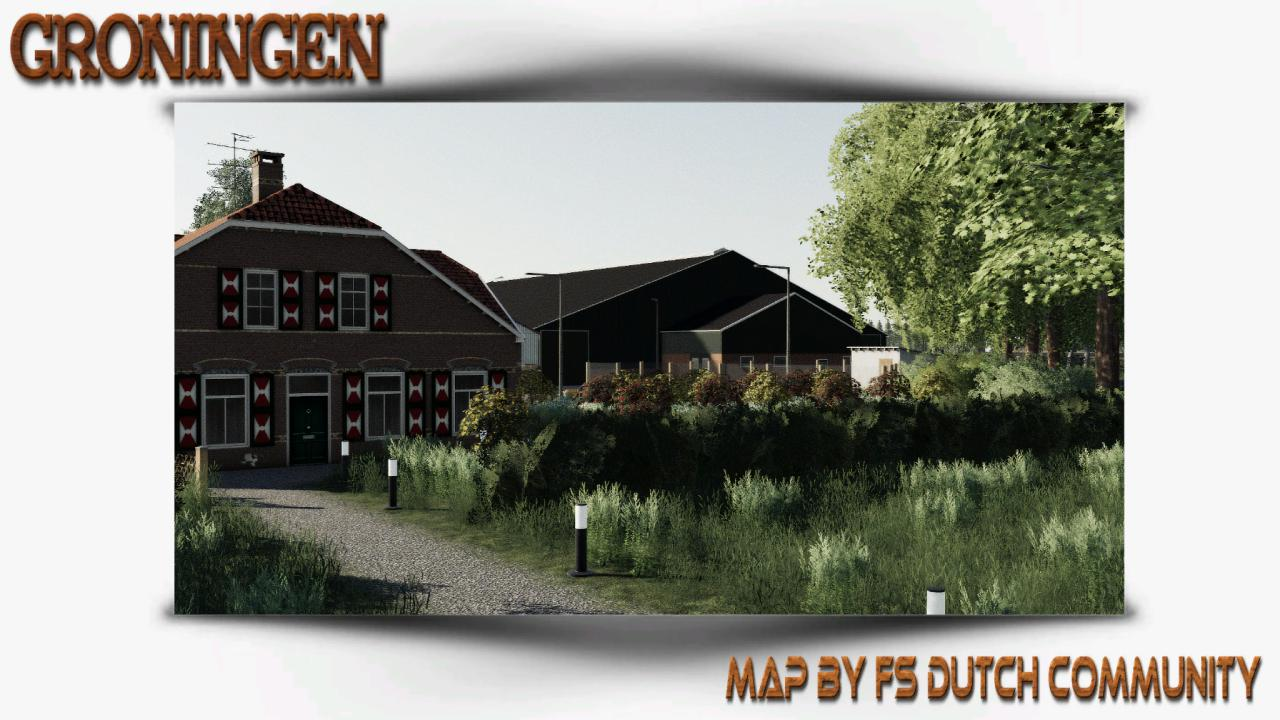 FS19 - Groningen Map V1.0