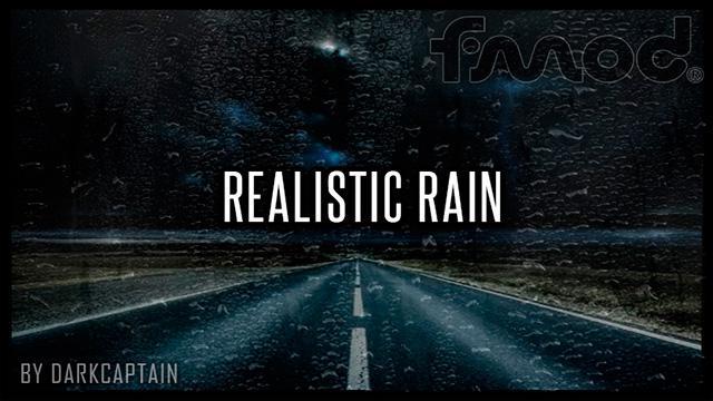 ATS - Realistic Rain V3.5.1 (1.37.x)