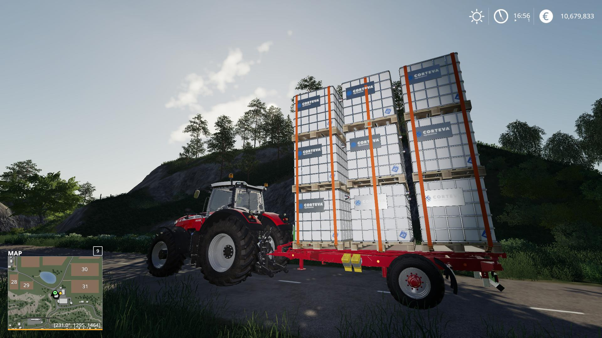FS19 - Autoload Pack With 3 Tiers Of Pallet V2.0