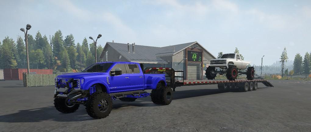 SnowRunner - Limes RR13 Monster/Mud Truck V1.0