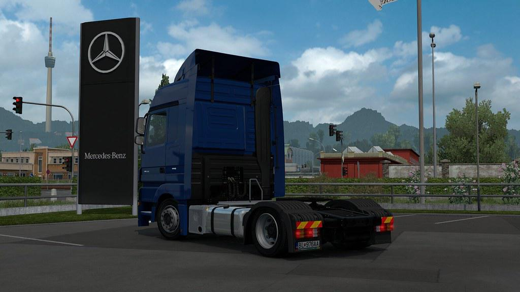 ETS2 - Low Deck Chassis Addons for Schumis Trucks V3.6 (1.36.x)