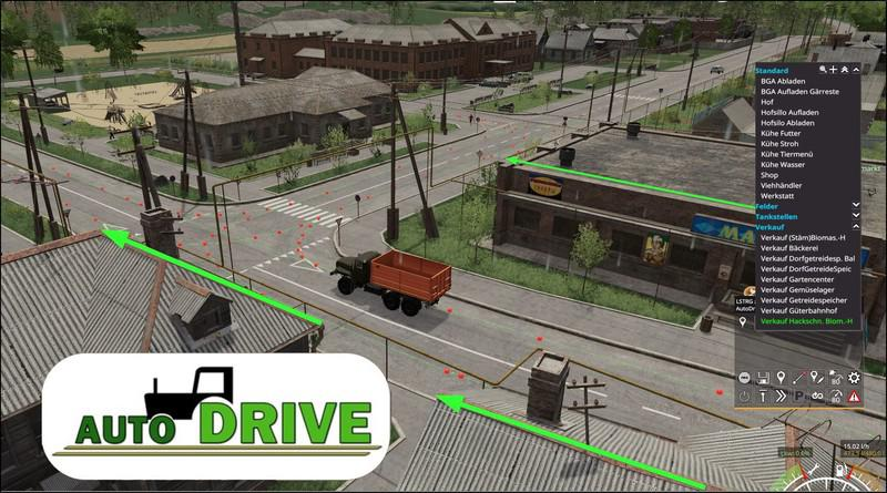FS19 - AutoDrive Courses for The Sosnovka Map V1.0