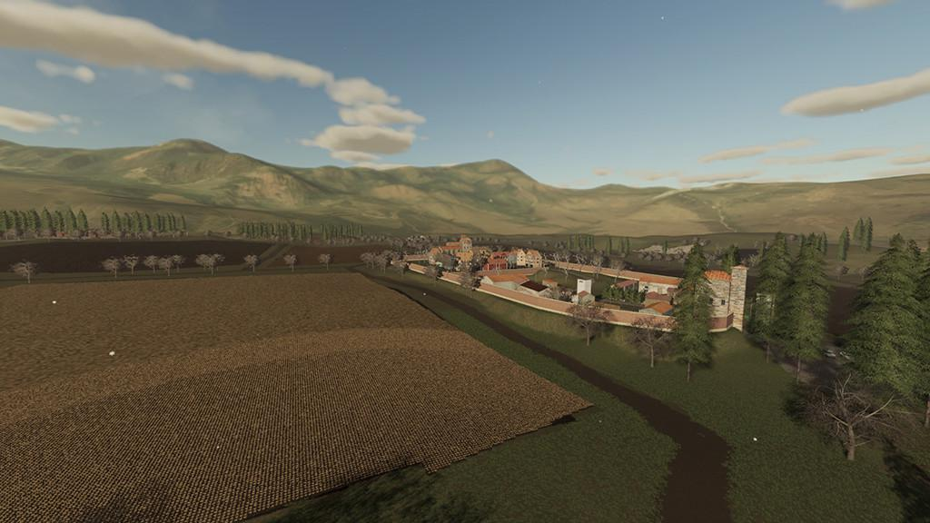 FS19 - Tuscan Lands Map V1.0.0.1