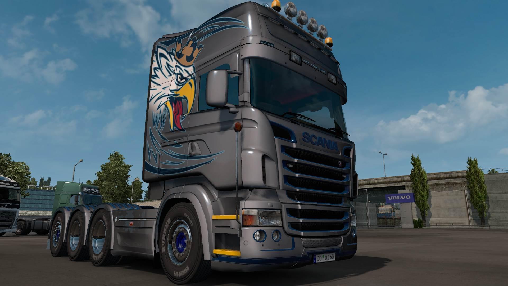 ETS2 - Scania RJL Topline Griffin Skin V1.0 (1.35.X)