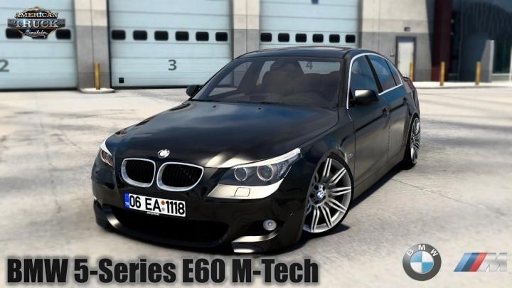 ATS - BMW 5-Series E60 M-Tech + Interior V1.0 (1.40.x)