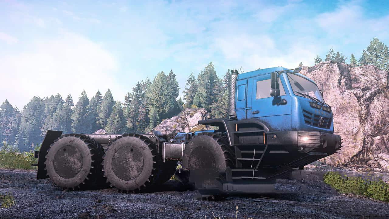 SnowRunner - KamAZ-Arctic Truck V4.4.5