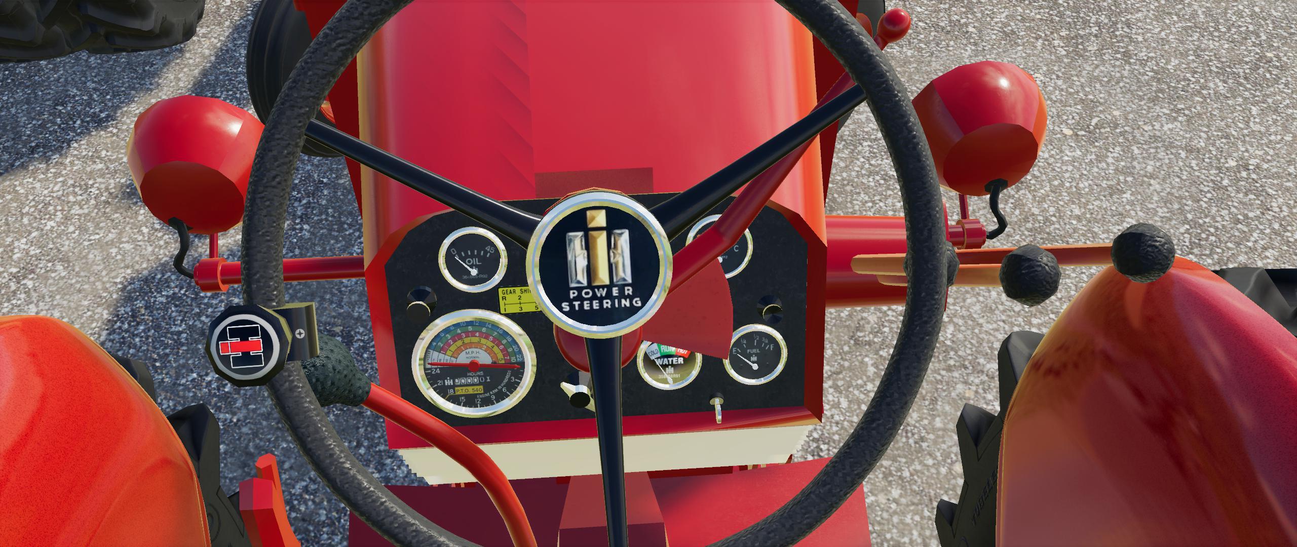 FS19 - Farmall 460 / 560 Tractor V1.1