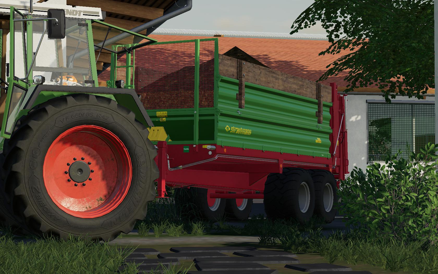 FS19 - Tandem Miststreuer 14T Trailer V2.0