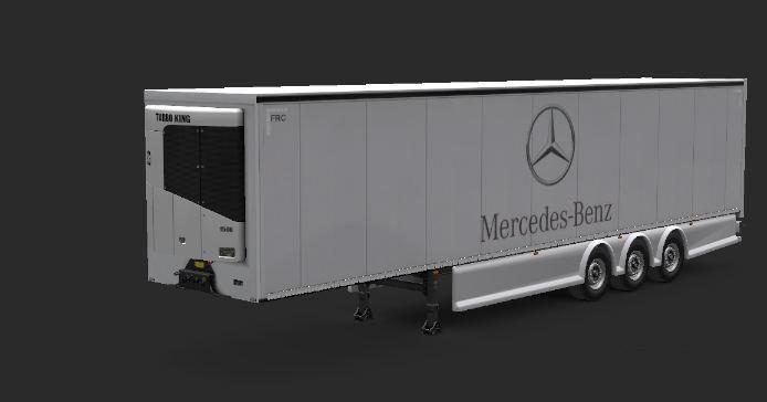 ETS2 - Mercedes-Benz Trailer for Quick Jobs (1.36.x)