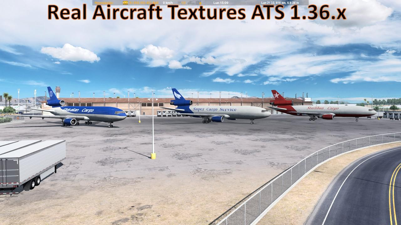 ATS - Real Aircraft Textures Mod (1.36.x)