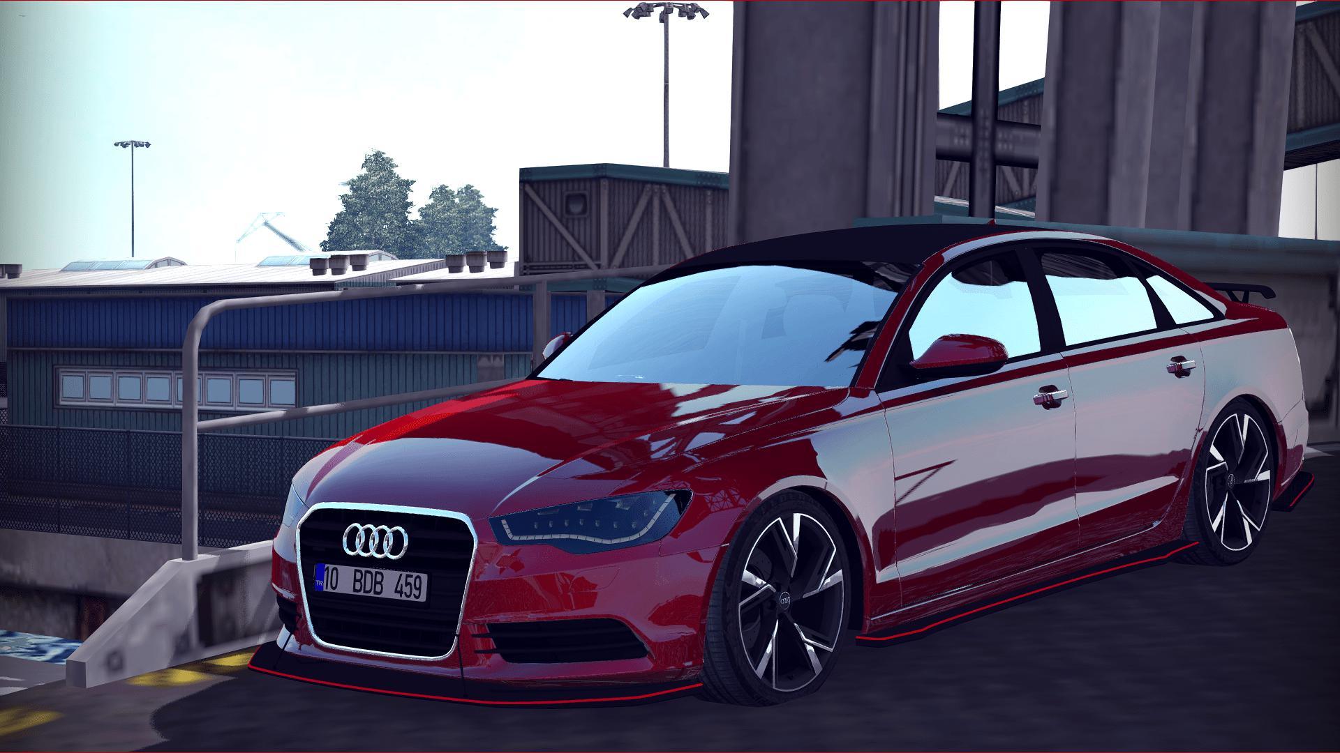 ETS2 - Audi A6 Stance (1.36.x)