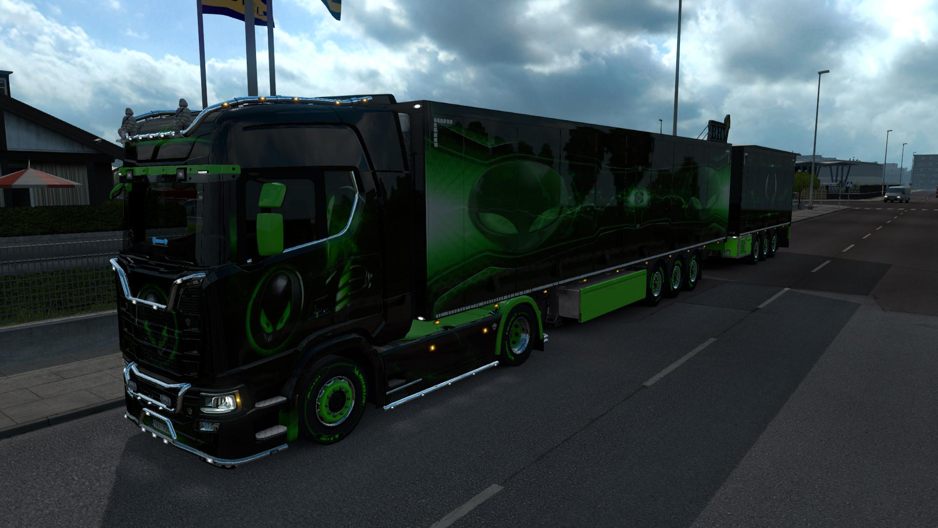 ETS2 - Scania Alien Ware Pack (1.36.x)