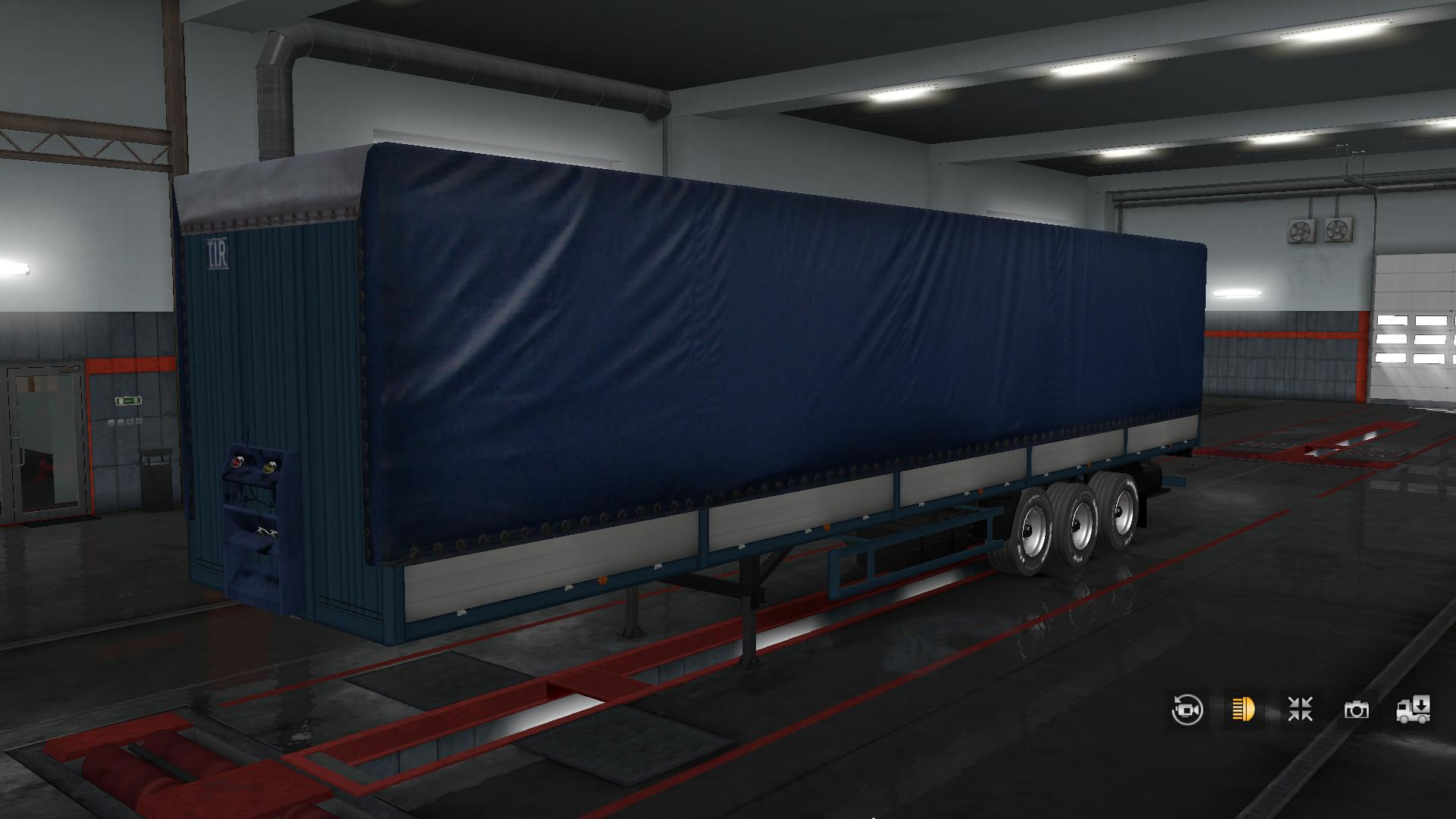 ETS2 - Maz 9758 in Property Trailer V2.0 (1.35.X)