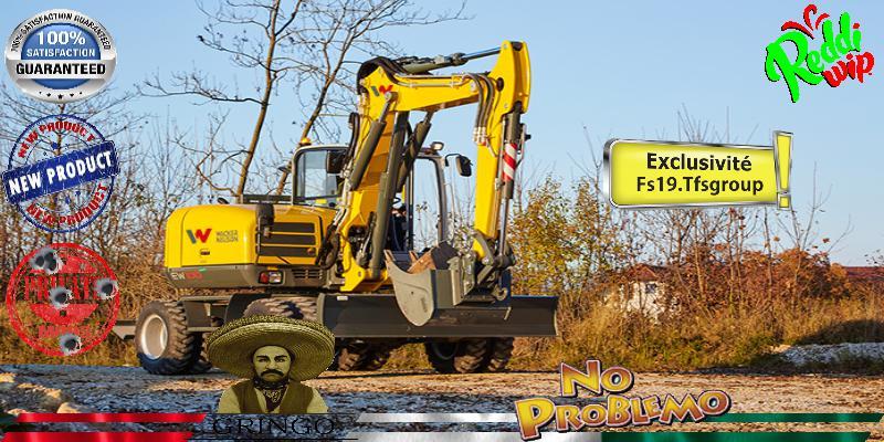 FS19 - Excavator Wacker Neusson V1.5