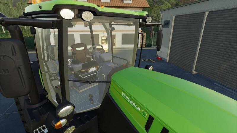 FS19 - Jcb Fastrac Tractor V1.0.0.1