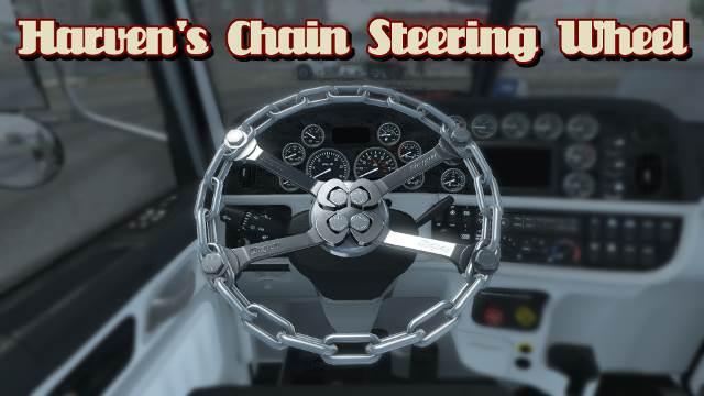 ATS - Chain Steering Wheels Mod (1.35.X)