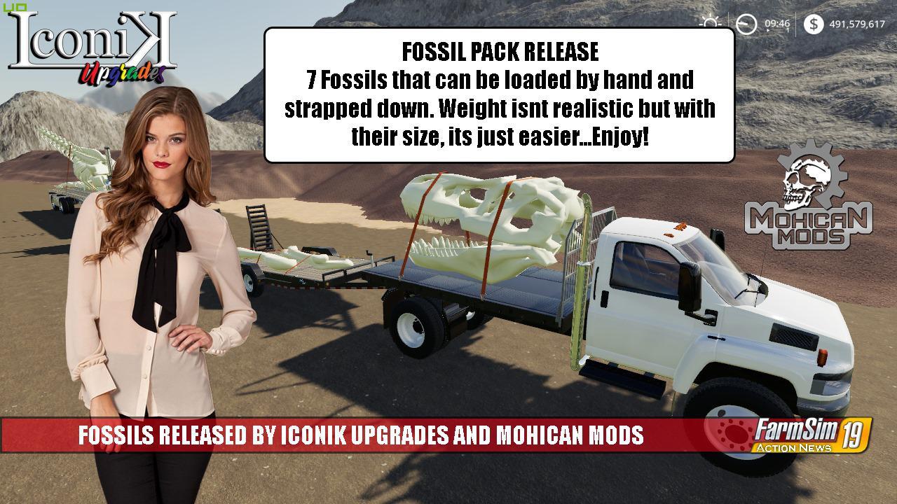 FS19 - Iconik Fossils v1.0