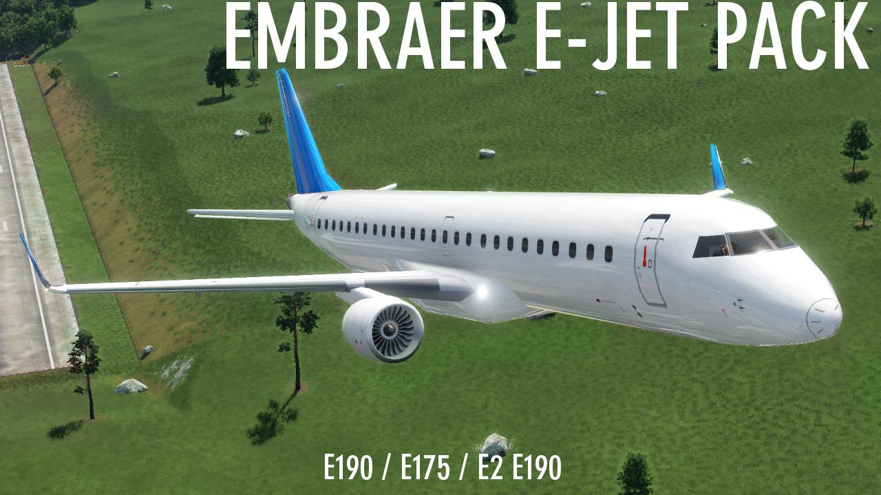 Transport Fever 2 - Embraer E Jet Pack