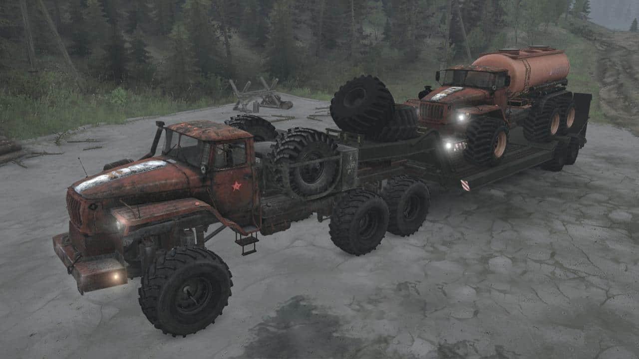 Spintires:Mudrunner - Ural Polar Explorer Pack V19.03.20
