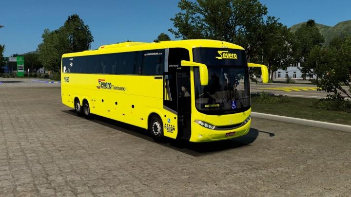 ETS2 - Comil Campione 3.65 MB Bus Mod (1.41.x)