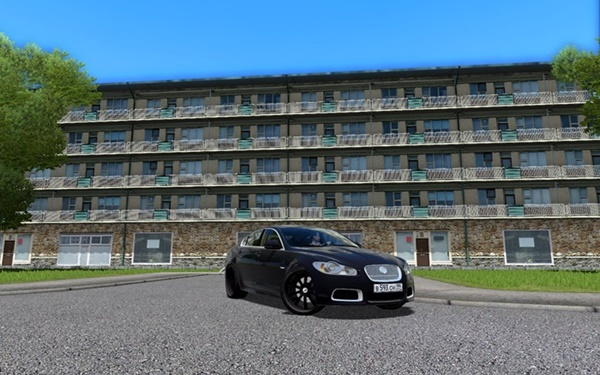 City Car Driving 1.5.9 - Jaguar XFR