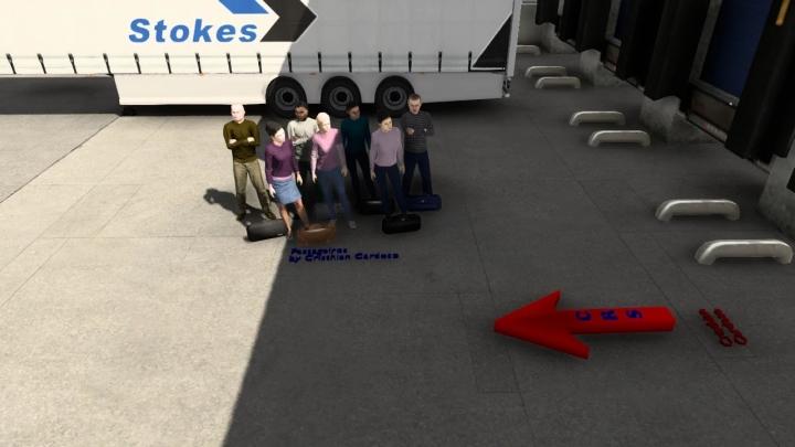 ETS2 - Passengers Mod (1.41.x)