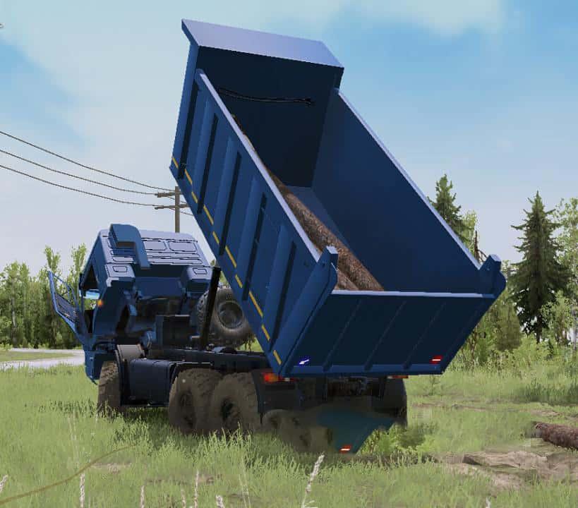 Spintires:Mudrunner - Kamaz Batyr Truck V30.12.20