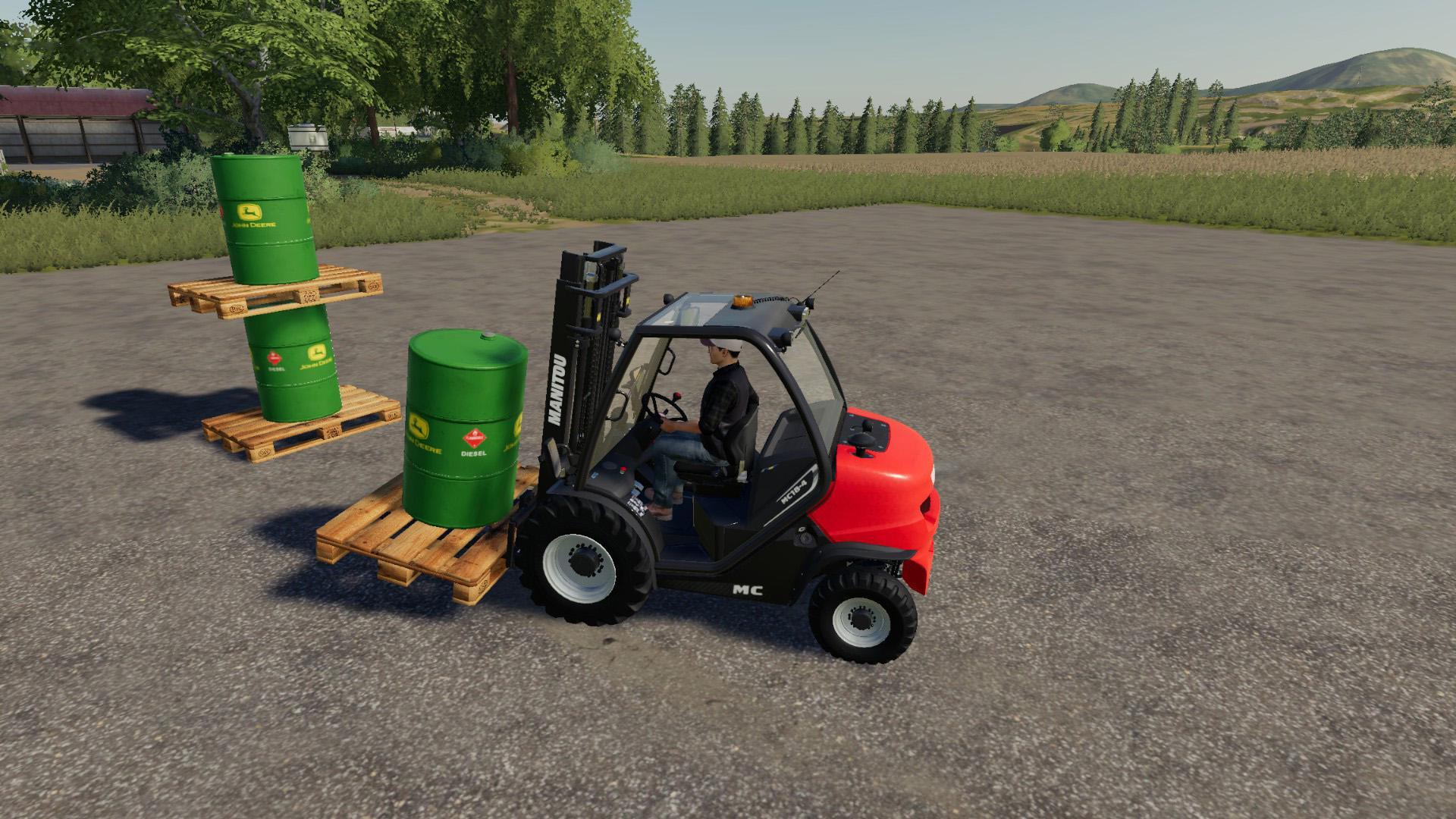 FS19 - John Deere Diesel Barrel V1.0