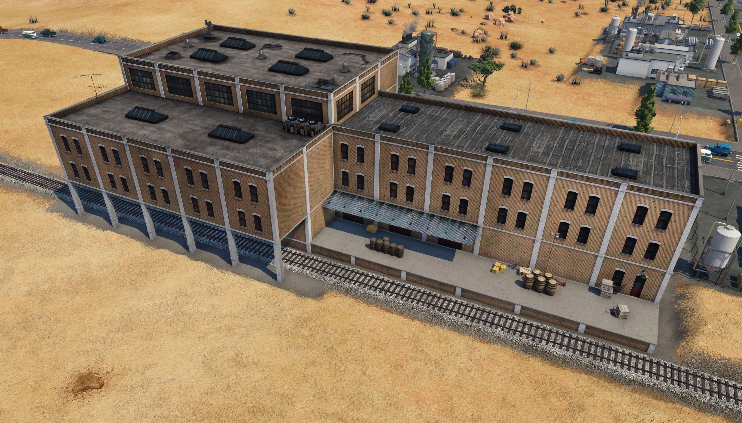 Transport Fever 2 - Trackside Buildings