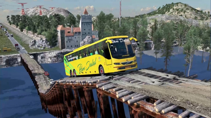 ETS2 - Indian Volvo B11r Free Release V1.0 (1.38.x)