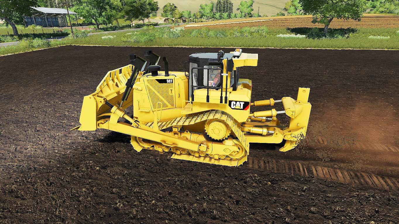 FS19 - BullDozer Caterpillar D8T Sdm V1.0