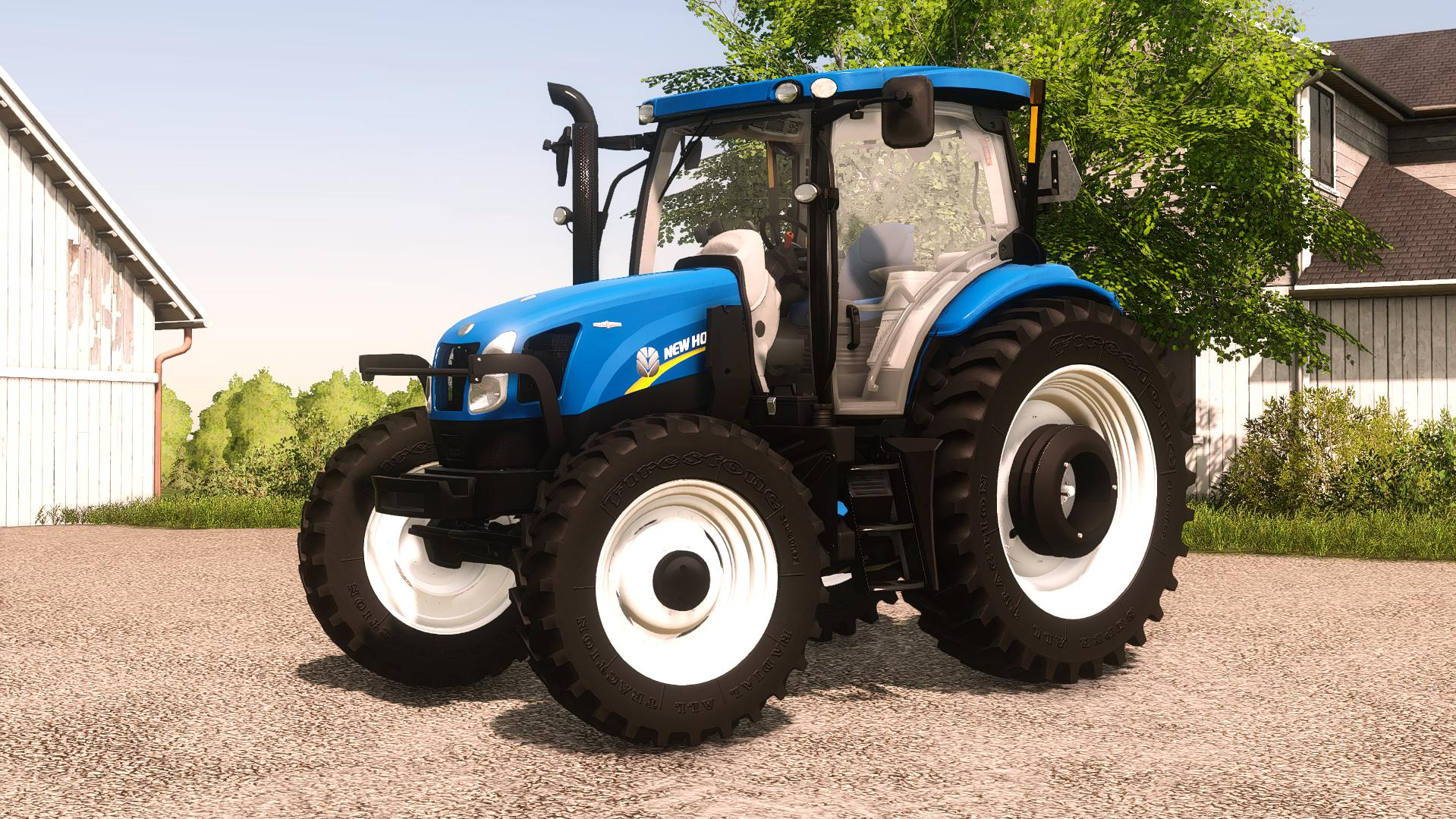 FS19 - New Holland T6 2012 Tractor V1.0