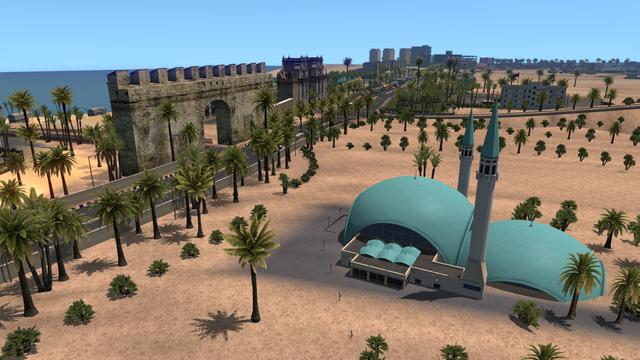 ETS2 - Red Sea Map V1.1 (1.38.x)