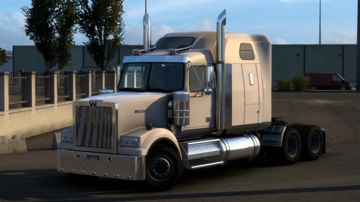 ETS2 - Western Star 4900FA Truck V3.4 (1.40.x)