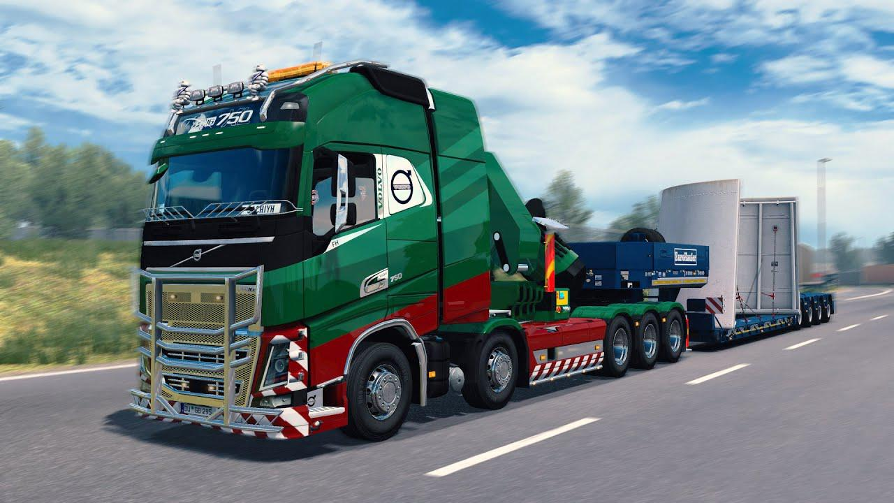 ETS2 - Rpie Volvo FH16 2012 Truck V1.40.0.122S
