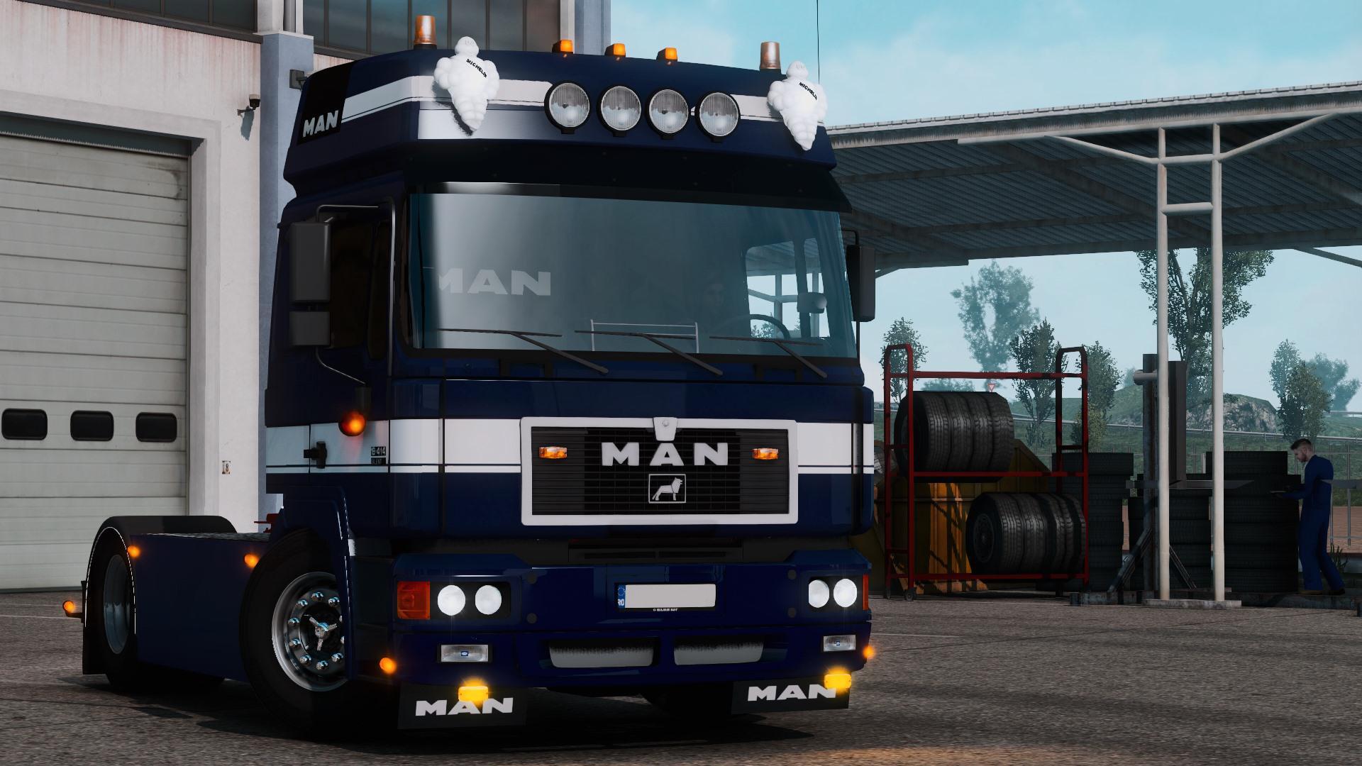 ETS2 - Man F2000 Truck (1.39 - 1.40)