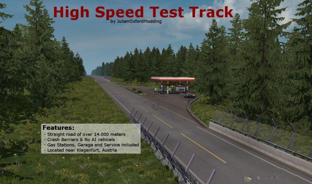 ETS2 - High Speed Test Track (1.36.x)