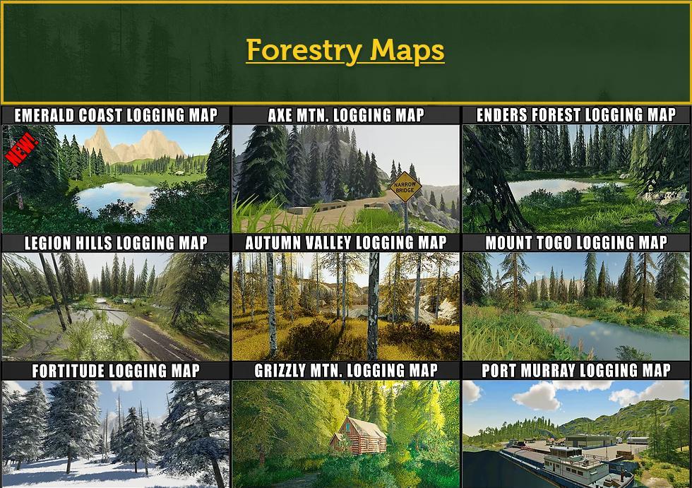 FS19 - FDR Logging Mods Pack October 2020 V1.0