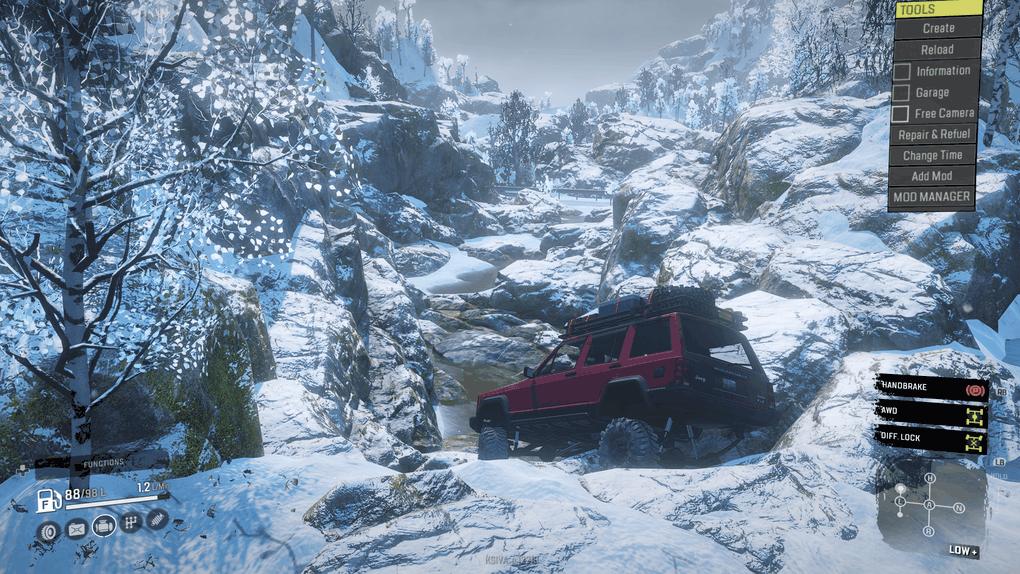 SnowRunner - The Snowfall Map V1.4