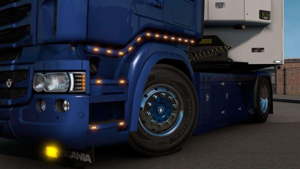 ETS2 - Scania RJL Bull Bar + Slot V1.0 (1.39.x)