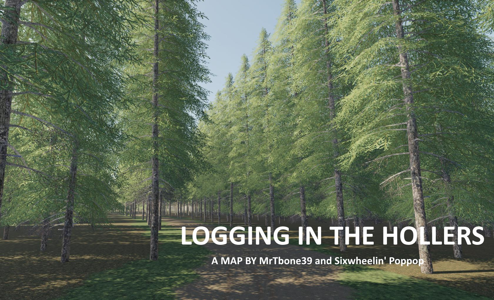FS19 - Logging In The Hollers Map V1.0