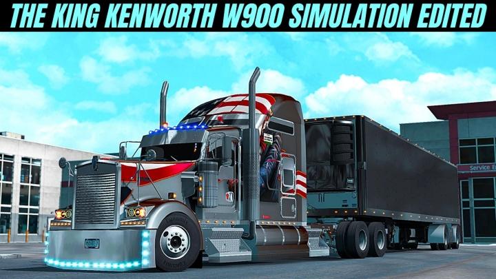 ATS - The King of L.A. Workshop Mod SCS Kenworth V1.5 (1.39.x)